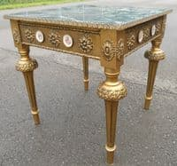 Antique Style Gilt Coffee Table